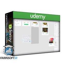 دانلود Udemy Adobe XD: UI & UX Design with 8 real world project 2020 tuto