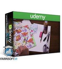 دانلود Udemy Art for Beginners & Kids: 8 Drawing & Mixed-Media Projects