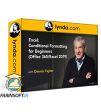 دانلود lynda Excel: Conditional Formatting for Beginners (Office 365 / Excel 2019)