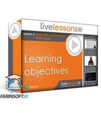 دانلود LiveLessons Learn JavaScript