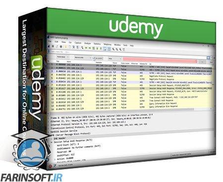 دانلود Udemy Master Wireshark 3 in 5 Days