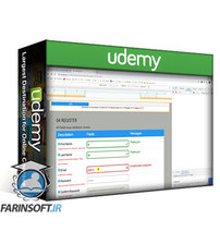 دانلود Udemy Stylish Dynamic Web Forms with jQuery validation