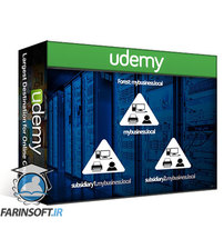دانلود Udemy Windows Server 2019: Active Directory, GPO, R. Server Access ( 2020 )