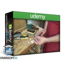 دانلود Udemy Wood Working classes, basic carpentry