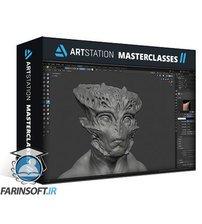 دانلود ArtStation Speed Sculpt Alien 01