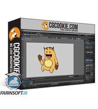 دانلود CG Cookie Create Rigged Grease Pencil Animations in Blender