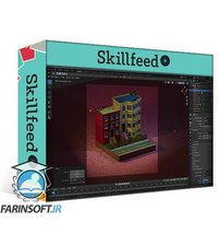 دانلود Skillshare Create Isometric Buildings With Blender