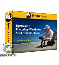 دانلود lynda Lightroom Classic CC and Photoshop Workflows: Start-to-Finish Studies