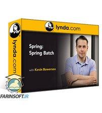 دانلود lynda Spring: Spring Batch