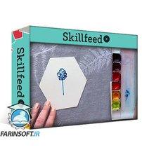 دانلود Skillshare 100 Day Watercolor Challenge   5 Minute Paintings   Build a Creative Habit