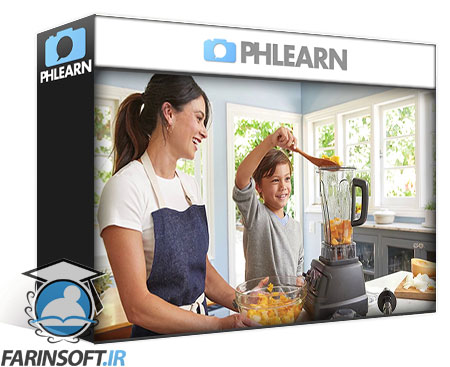 دانلود PhLearn Bright & Airy Coloring in Photoshop