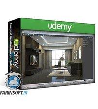 دانلود Udemy 3D Visualization For Beginners: Interior Scene with 3DS MAX