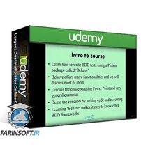 دانلود Udemy Cucumber BDD with Python Behave and Selenium WebDriver