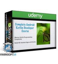 دانلود Udemy The Complete Android + Kotlin Developer Course 2020