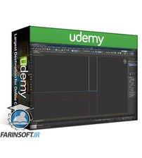 دانلود Udemy 3d visualization , 3ds max, V-ray, Ps : 3D render The Museum