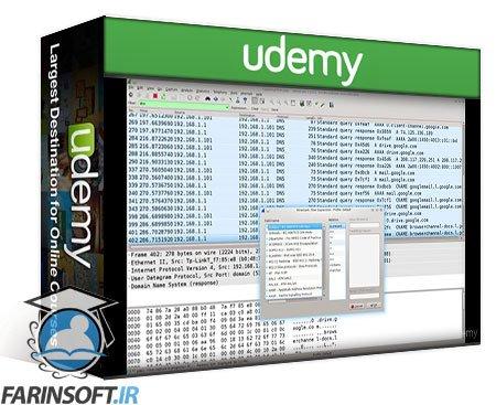 دانلود Udemy The Complete Wireshark Course: Go from Beginner to Advanced!