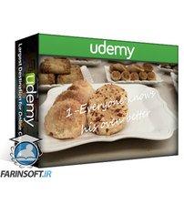 دانلود Udemy Cookie Baking Arts: Learn 3 Worldwide & 3 Moroccan Cookies.