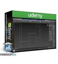 دانلود Udemy 3d visualization , 3ds max , v-ray : 3D Modeling the VILLA