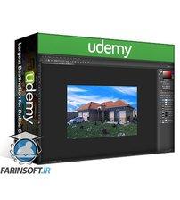 دانلود Udemy 3d visualization , 3ds Max ,v-ray ,ps : 3D render the VILLA