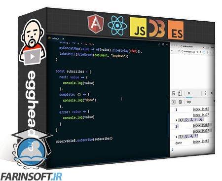 دانلود egghead Build Your Own RxJS Pipeable Operators