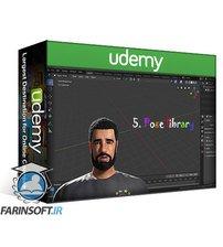 دانلود Udemy Create & Animate a Realistic Drake Character in Blender 2.8