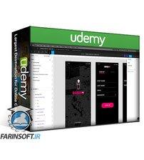 دانلود Udemy Design & Prototype a Mobile UI/UX Experience – Learn Figma