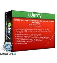 دانلود Udemy Penetration Testing With Kali Linux & Empire PowerShell
