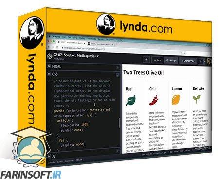 دانلود lynda Advanced CSS Media Queries