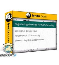 دانلود lynda Engineering Drawings for Manufacturing