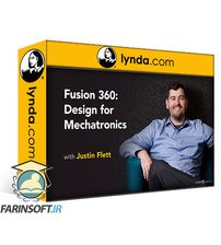 دانلود lynda Fusion 360: Design for Mechatronics (2019)