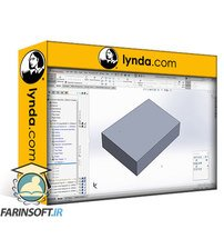 دانلود lynda SOLIDWORKS: 3D Printed Product Enclosure