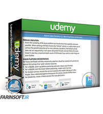 دانلود Udemy Azure Data Factory V2: Guide to Cloud Data Engineers (DP-200)