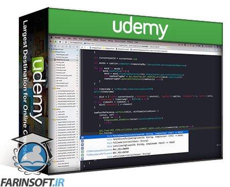 دانلود Udemy Build Instagram to Master Swift 4 and Firebase