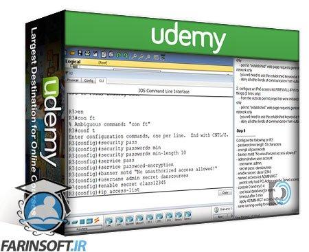 دانلود Udemy Cisco CCNA 2 – Routing and Switching Essentials