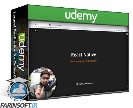 دانلود Udemy Complete React Native bootcamp – Build 18 iOS & Android app