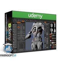 دانلود Udemy Hard Surface Modeling and Sculpting Course in 3D Coat