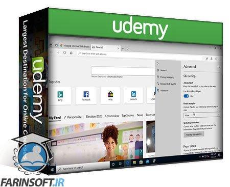 دانلود Udemy Modern Desktop Certification Exam MD-100: Windows 10