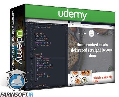دانلود Udemy Sass – From Beginner to Real World
