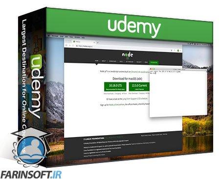 دانلود Udemy Server side rendering with Next + React