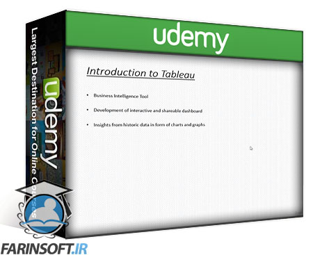 دانلود Udemy Tableau – Business Intelligence and Analytics using Tableau