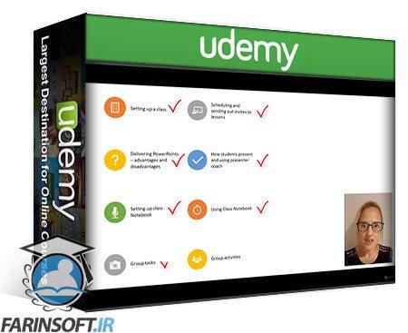 دانلود Udemy Teaching Online with Microsoft Teams: Engage & Inspire
