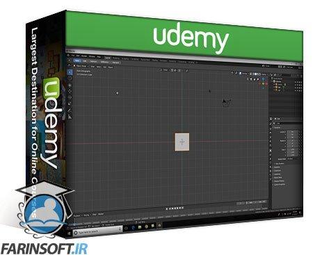 دانلود Udemy The Ultimate Blender Low Poly Guide