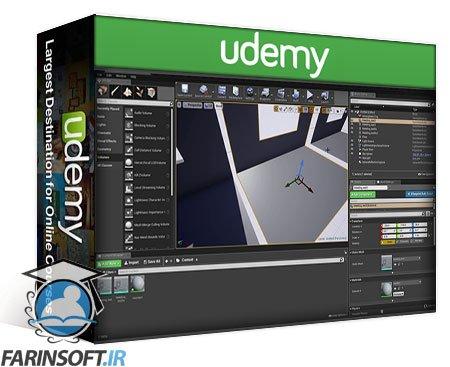 دانلود Udemy Create an Apocalyptic 3D Environment for Games
