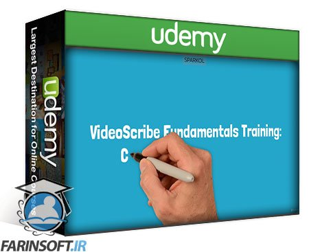 دانلود Udemy VideoScribe Fundamentals Training: Creating Animated Videos