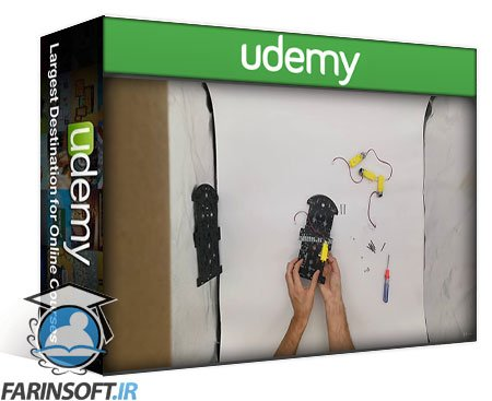 دانلود Udemy Wheeled Robot Motion Control with Raspberry Pi & Python