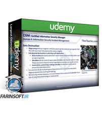 دانلود Udemy CISM Certification CISM Domains –  4 Parts Video-Boot Camp 2020