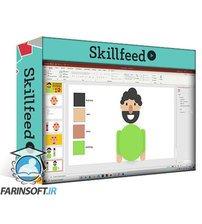 دانلود Skillshare Creating Flat Character & Vector Designs using Microsoft PowerPoint