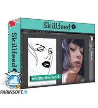 دانلود Skillshare Drawing and Coloring a Comic Style Portrait from a Photo