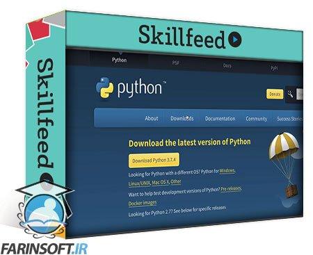 دانلود Skillshare Python For Absolute Beginner