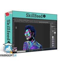 دانلود Skillshare Retro Futuristic Style Portrait in Photoshop